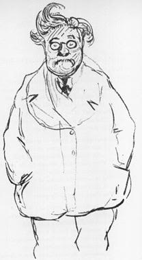 Chesterton Self Portrait
